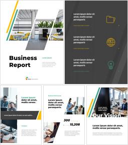 Informe comercial profesional Temas y plantillas de Presentaciones de Google_26 slides