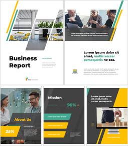Professional Business Report Presentation_26 slides