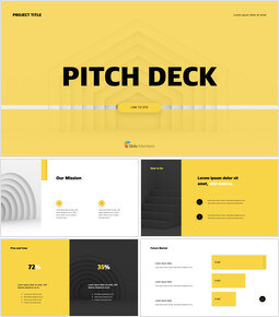 Professional Pitch Deck Layout slideshare ppt_13 slides