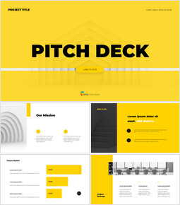 Professional Pitch Deck Layout Startup Pitch Deck_13 slides