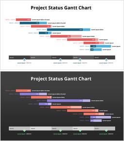 Projektstatus-Gantt-Diagramm_2 slides