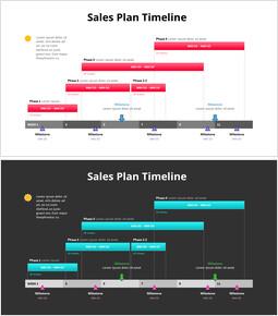 Calendrier du plan de vente_2 slides