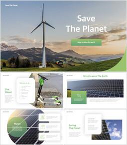 Save The Planet 템플릿 키노트_00