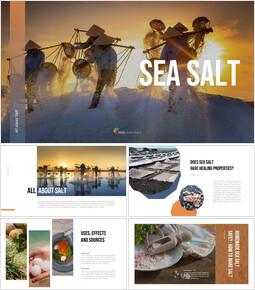 海塩 PPTパワーポイント_40 slides