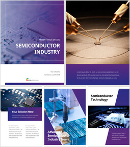 Semiconductor industry template powerpoint_25 slides