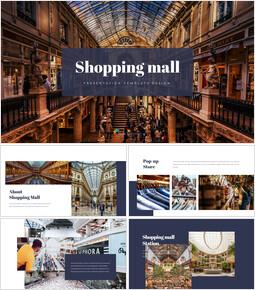 Centro comercial Presentaciones de PowerPoint_35 slides