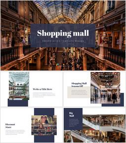 Shopping Mall Simple Slides Templates_35 slides