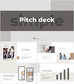 Video di presentazione PowerPoint di presentazione del pitch deck dal design semplice_00