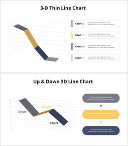 単一の3D折れ線グラフ_12 slides