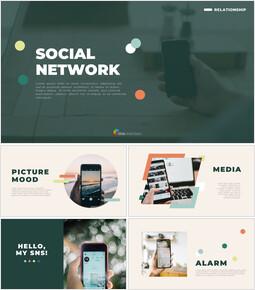 소셜 네트워크 Google 문서 파워포인트_50 slides