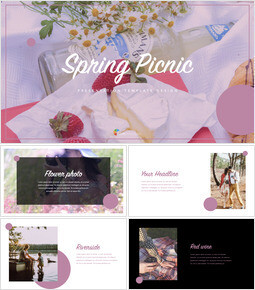 Spring Picnic beautiful keynote templates_00