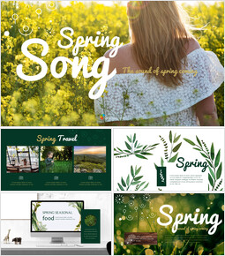 Spring Song Business Presentation Examples_50 slides