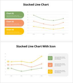 Grafico a linee in pila_10 slides