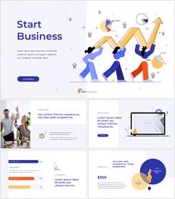 Start Business Plan pitch deck help_13 slides