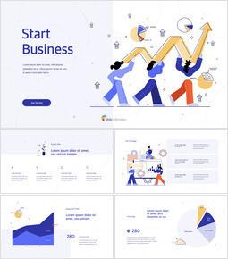 Start Business Plan Theme Keynote Design_13 slides