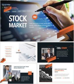 Stock market Keynote mac_50 slides