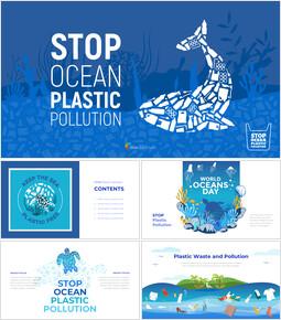 Stop Ocean Plastic Pollution Best Google Slides_50 slides