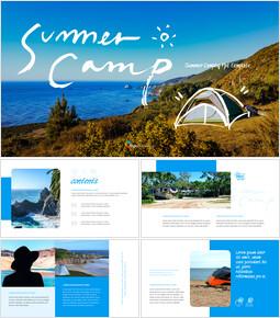 Summer Camp Google Slides Presentation_35 slides