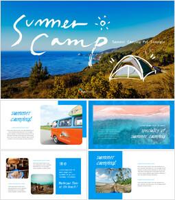 summer Camp Presentations PPT_35 slides