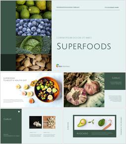Superfoods Presentation Google Slides Templates_40 slides