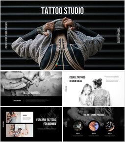 Tattoo Studio Best PPT Slides_00
