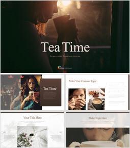 お茶の時間 キーノートウィンドウ_40 slides