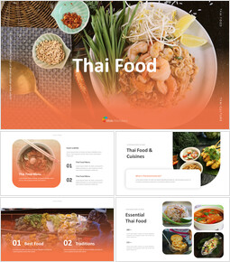 Thai Food Google Slides Themes for Presentations_35 slides