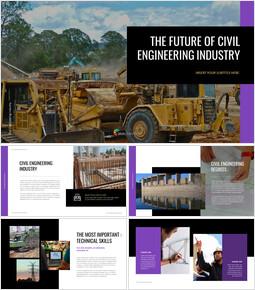 The Future of Civil Engineering Industry Google Slides_40 slides