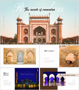 Il mese del Ramadan Progettazione di modelli PPT_35 slides