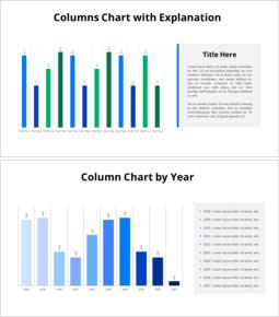 タイムライン縦棒グラフ_8 slides