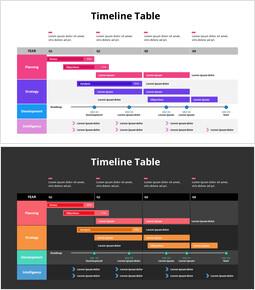 Tableau chronologique_2 slides