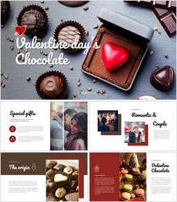 Valentine's day chocolate Best Google Slides_40 slides