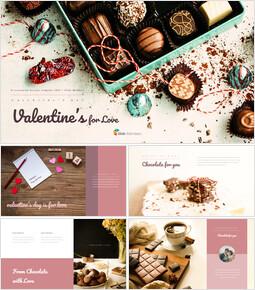 Valentine\'s Day is for Love google slides template_37 slides