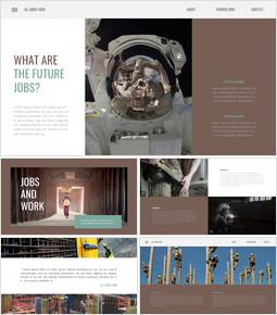 Vari lavori Diapositive di presentazione di Google_40 slides