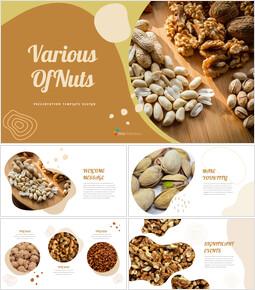 Various of Nuts google slides template_40 slides