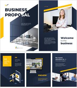 Vertical Design Template Business Proposal_00