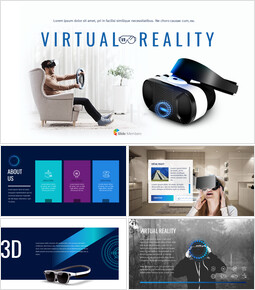 virtual Reality Google Slides Presentation Templates_50 slides
