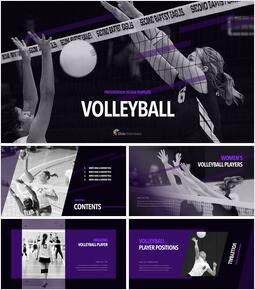 Volleyball professional presentation_35 slides