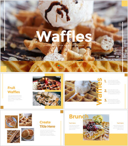 Waffles PowerPoint Presentations Samples_35 slides