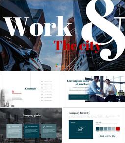 일과 도시 심플한 구글 템플릿_50 slides