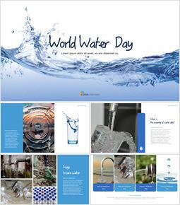 世界水の日 チームプレゼンテーションテンプレート_40 slides