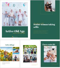 활동적인 노년 실행 사업계획 PPT_25 slides