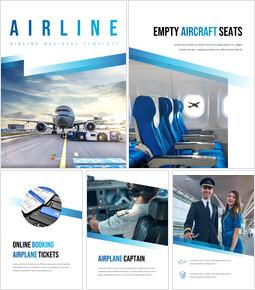 compagnia aerea Modelli semplici Design_25 slides