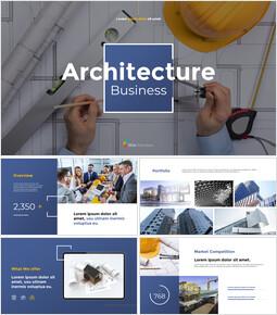 Architecture Business Pitch Deck Best PPT Design_13 slides