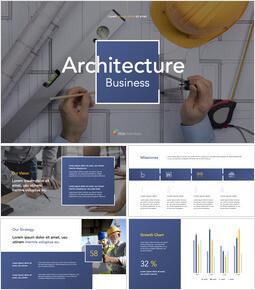 Architecture Business Pitch Deck slideshare ppt_13 slides