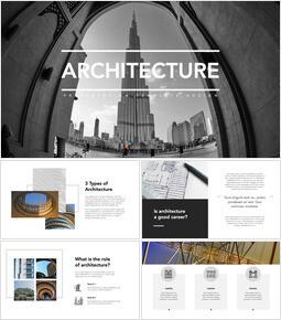 Arquitectura descarga de plantilla de keynote_35 slides