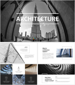 Architecture template powerpoint_35 slides