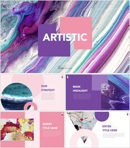 Artistico Keynote windows_35 slides