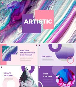 Artistic Presentations PPT_35 slides