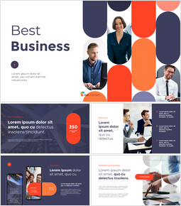 最高のビジネスピッチデッキ PPTパワーポイント_13 slides